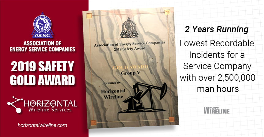 2019 Gold Safety Award